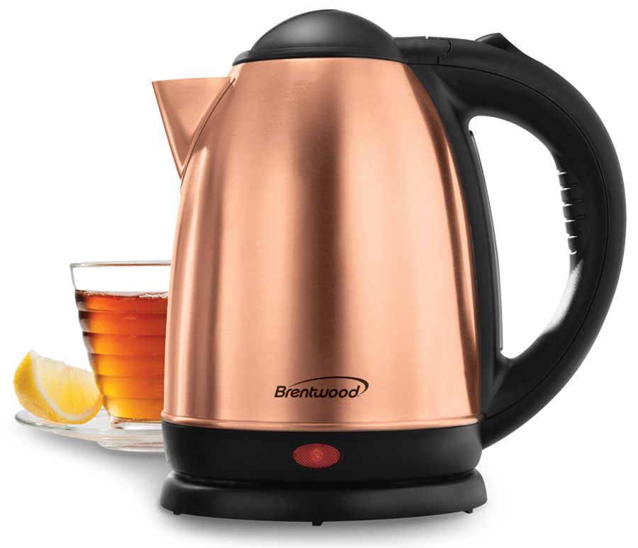 1.7 Liter Rose Gold Electric Stainless Steel Kettle
