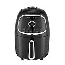 Brentwood AF-202BK 2-Quart Small Electric Air Fryer, Timer & Temp. Control