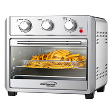 Coming Soon - Brentwood Select AF-2410S 24-Quart Convection Air Fryer Toaster Oven, Dehydrate, Broil, Bake, with 60 Minute Timer, Stainless Steel